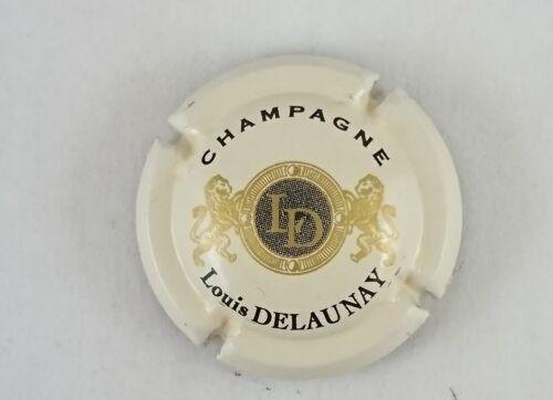 capsule champagne LOUIS DELAUNAY n°1 fond crème