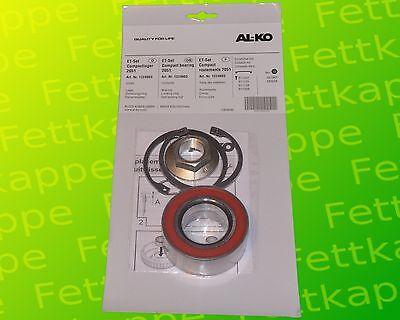 2 x ALKO Radlager 1224803 Lager 72//39x37 mm Kompaktlager Ecolager Zubeh/ör