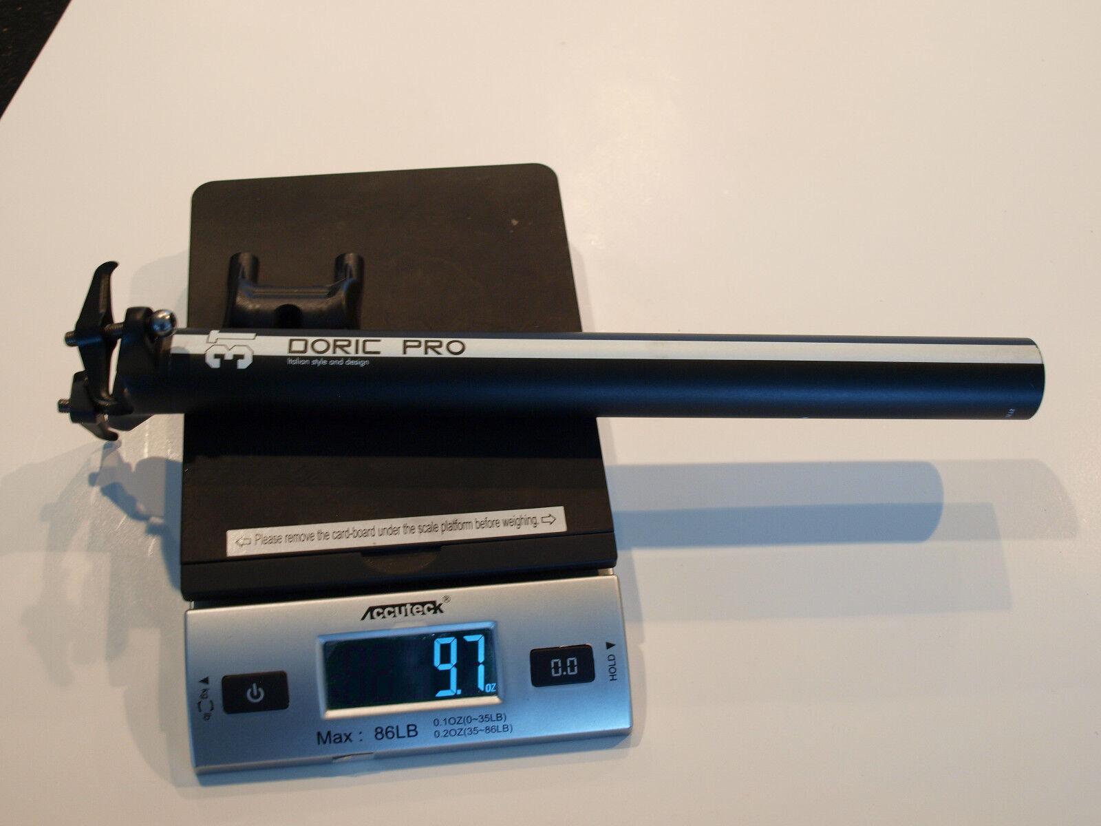 3T Doric Pro Aluminum Seatpost 31.6mm 350mm Zero Offset 275  grams  cost-effective