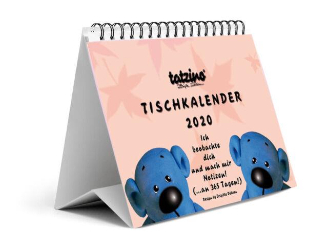 Tatzino Tischkalender 2019 Humor Kalender Monatskalender Hinstellen Sprüche A5