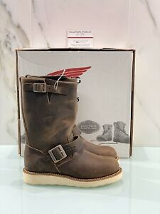 Red-Wing-Engineer-Femme-Bottine-Cuir-Marron-Boots-37