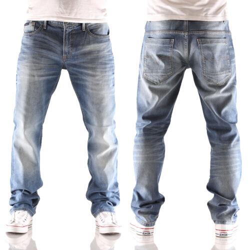 Pantalon homme Indigo Seven Jeans Morris Fit oversize XL large XL pour Nouveau Blue qTUAUfw