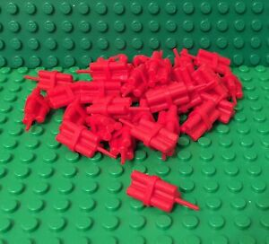 wing end pieces  Lot of 25 ** 25 CT LOT **  Lego NEW red 2 x 2 brick W// 2 studs