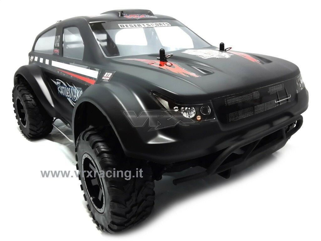 RATTLESNAKE 1 10 SUV OFF-ROAD ELETTRICO DOPPIO TELAIO METALLO OMOCINETICI SERIE