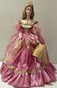 FRANKLIN-MINT-HEIRLOOM-CINDERELLA-PORCELAIN-DOLL-RARE