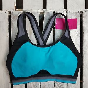 927f1f6548 EX M S LADIES Infin8 High Impact Non-Padded Full Cup Sports Bra A-E ...