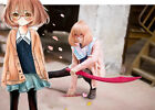Hot Anime Kyokai no Kanata Kuriyama Cosplay Costume Cos Accessories Full Suit