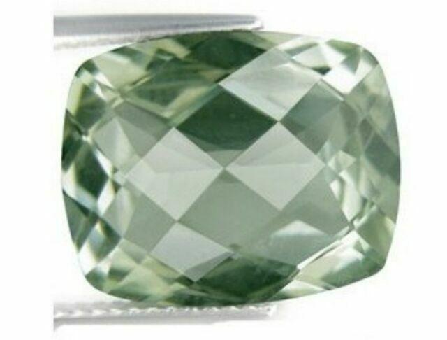 GREEN AMETHYST 10 x 8 MM EMERALD CUT AAA ALL NATURAL
