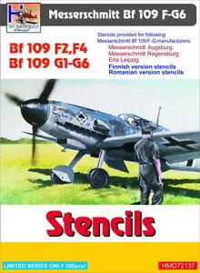H-Model-Decals-1-72-Messerschmitt-Bf-109-F2-F4-G1-g6-Stencil-72137