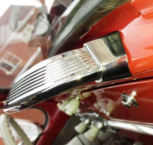 Escarabajo Dash Asa Para VW Bug de lujo Aluminio Marfil Cromo 1958-67 AAC241