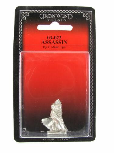 Assassin #03-022 Classic Ral Partha Fantasy RPG Metal Figure