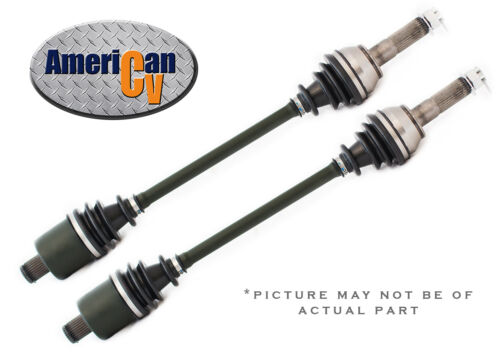 2012-2014 POLARIS RZR 4 SEAT XP 900 4X4 REAR RUGGED TERRAIN ATV UTV CV AXLE SET