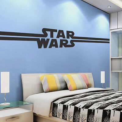 Star Wars Logo Wall Decal from Prime Decals a89