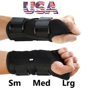 Wrist-Hand-Brace-Carpal-Tunnel-Support-Splint-Arthritis-Sprain-Breathable-Band