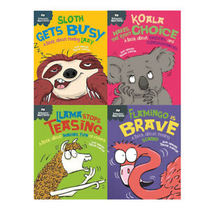 Sue-Graves-Behaviour-Matters-Collection-4-Books-Set-Series-3-Llama-Sloth-Koala