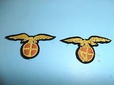 b4596 WW2 German Norway Quisling Breast Badge