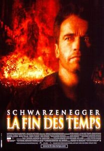Affiche-40x60cm-LA-FIN-DES-TEMPS-END-OF-DAYS-1999-Arnold-Schwarzenegger-TBE