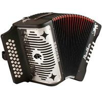 Hohner Panther 3-row Gcf Diatonic Accordion 3100gb