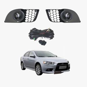 Fog Light Kit For Mitsubishi Lancer 2013 2016 With Wiring Switch Ebay