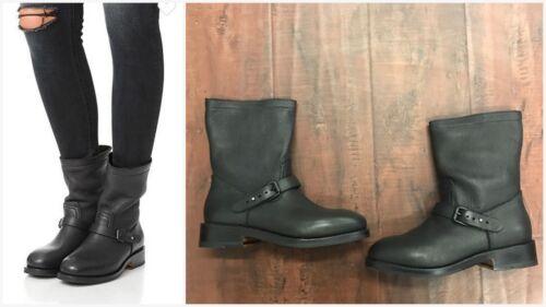 EUR 40 US 10 NIB Rag /& Bone Oliver Moto Black Buckle Ankle Boots Sz