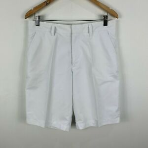 J-Lindeberg-Mens-Golf-Shorts-Size-33-White-With-Pockets