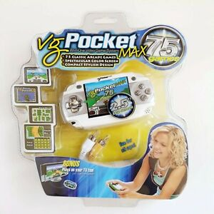 VG-Pocket-Max-75-Games-All-In-One-Handheld-Video-Game-System-NEW-Needs-Batteries