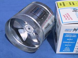 "14"" Aero Flo 1350 HIGH CFMs inline Duct Air Booster Fan"