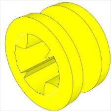 LEGO - Technic Bush 1/2 Smooth (X5) - Yellow