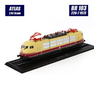 Ho scale model Atlas 1:87 Train BR 103 226-7 1973 Diecast model Train