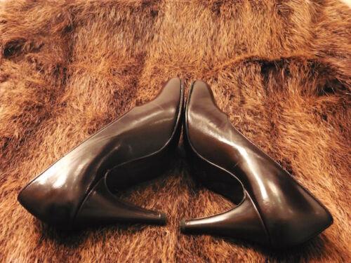 Vintage1980 Super New Lady T Perfect Shovel 37 Scarpa Sara Marrone 5 rXXwa4q