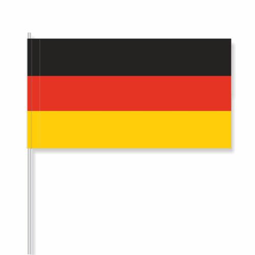 Nationalflagge, Flagge Papierfähnchen//Papierfahnen Deutschland FH