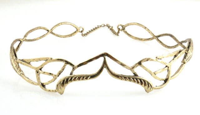Fashion Arven Evenstar Crown Lotr Hobbit Lord of the Rings Elven Tiara Headband