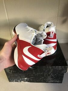 new arrival 11f75 550f0 Image is loading Nike-Lebron-14-Low-Ohio-State-PE-Size-