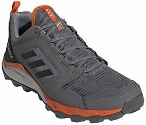 adidas-outdoor-Men-039-s-Terrex-Agravic-Tr-Grey-Three-Black-Orange-Size-9-5-mK8Q