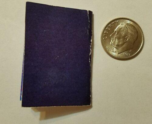 American Girl Barbie Passport 1//3 scale Travel Accessory Rebecca Brown Curly