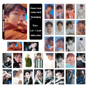 30Pcs-set-KPOP-Bangtan-Boys-RM-Love-Yourself-tear-Photo-Card-Lomo-Card
