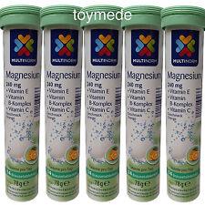 Multi norma Compresse Effervescenti magnesio + vitamina B, C + E 70 pezzi gusto ORANGE