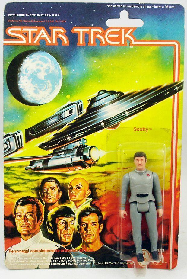 Mego  - estrella Trek the Motion Picture - Scotty  in vendita