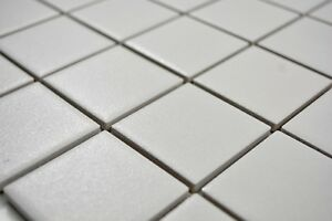 Mosaïque carreau céramique blanc cuisine bain mur sol 14-0111-R10_b ...
