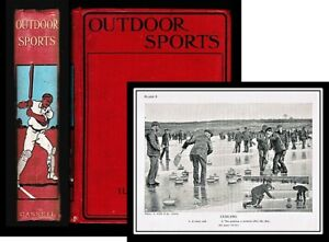 Outdoor Sports A Complete Guide 1912 Gilbert Jessop 16 Plates and Drawings