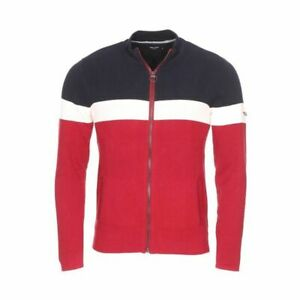 Teddy-Smith-Sport-Zipped-Sports-Griko-Long-Sleeved-Mens-UK-M-ref114