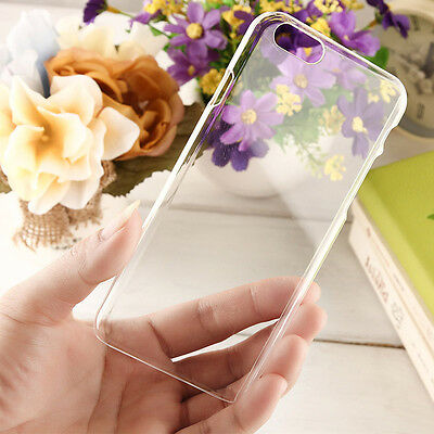 Ultra Thin Crystal Clear Transparent Cover Hard Case For iPhone 4S 5S 5C 6S Plus