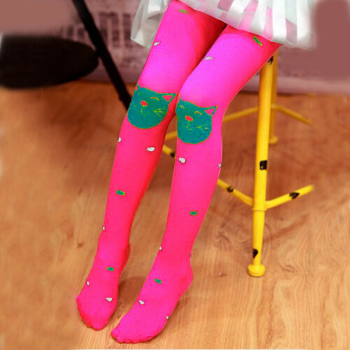 Spring Autumn Girls Tights Bearded Girl Fashion Knitted Stocking Baby Pantyhose