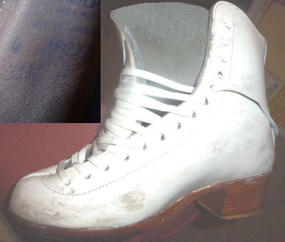 Ice Figure Skates RIEDELL Girls 355 stivali ONLY Girls RIEDELL Size 4 B medium 7b5bbd