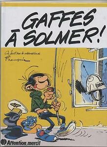 FRANQUIN-GASTON-Gaffes-a-Solmer-Reedition-cartonne-2016-HORS-COMMERCE-Neuf