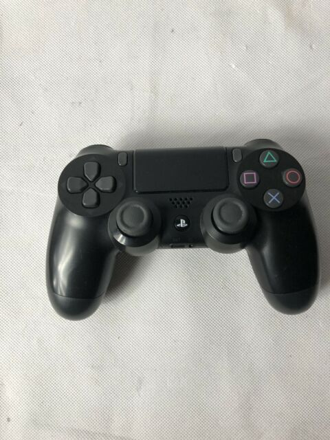 Sony PlayStation 4 PS4 DualShock 4 Wireless Controller - Jet Black (10037) Works