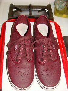 b21807c49a VANS OLD SKOOL ULTRA CUSH PERFERATED SHOES WOMENS SIZE 9.0 MAROON ...