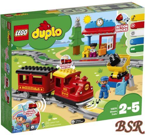 10874 Dampfeisenbahn /& 0.-€ Versand /& NEU /& OVP ! LEGO® DUPLO®