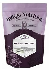 Organic Chia Seeds - 1kg - Indigo Herbs