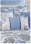 Waverly-4-Piece-Reversible-Quilt-Set-Over-the-Moon-Lapis-Blue-Medallion-Queen thumbnail 6